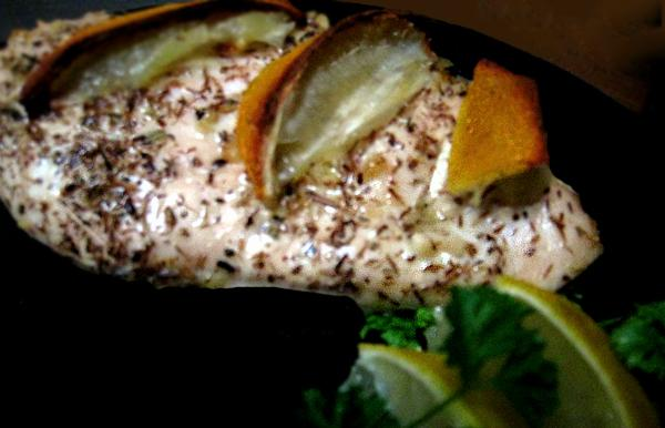 Lemon and Thyme Quick Roasted Chicken Breasts