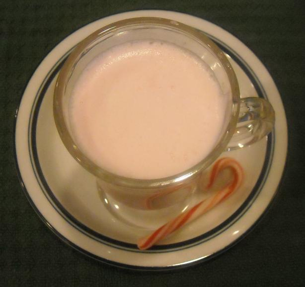 White Peppermint Hot Chocolate