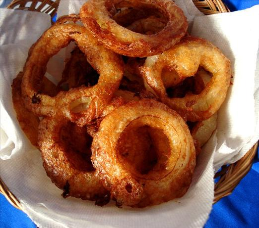 Buttermilk Batter-Fried Onion Rings