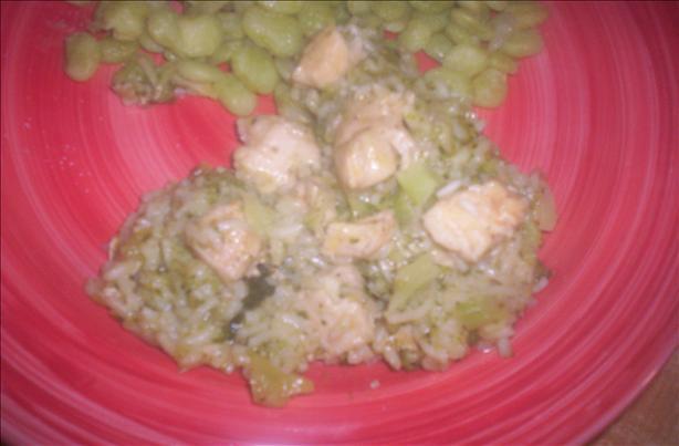 Super Chicken, Broccoli 'n Rice Skillet