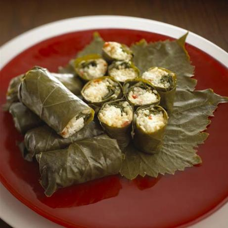 Goat Cheese Stuffed Grape Leaves