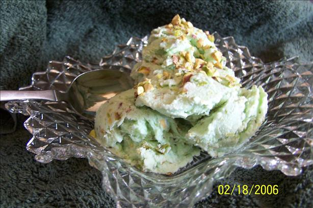 Sugar Free Pistachio Ice Cream - Freezer Made