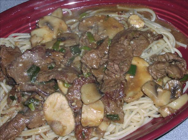 Steak & Mushrooms in Beef-dijon Sauce