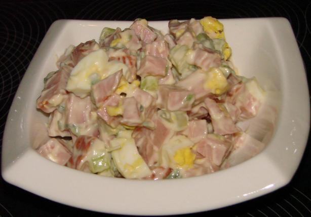 Basic Ham Salad