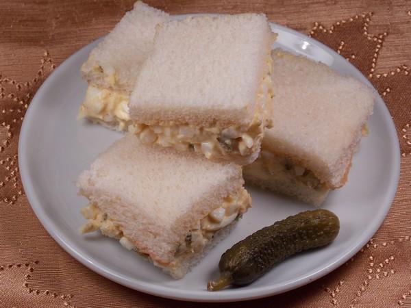 Egg Salad Tea Sandwich