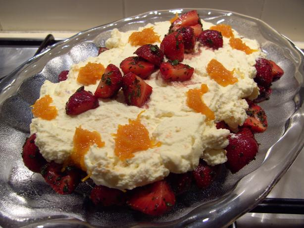 Strawberries in Balsamic Vinegar and Orange Sugar