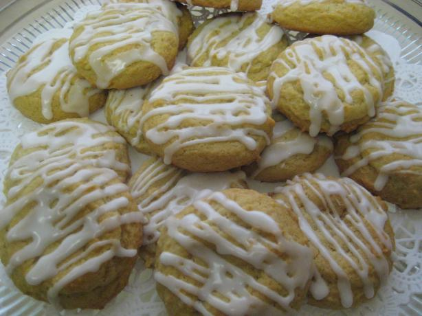 Chewy Honey Lemon Cookies