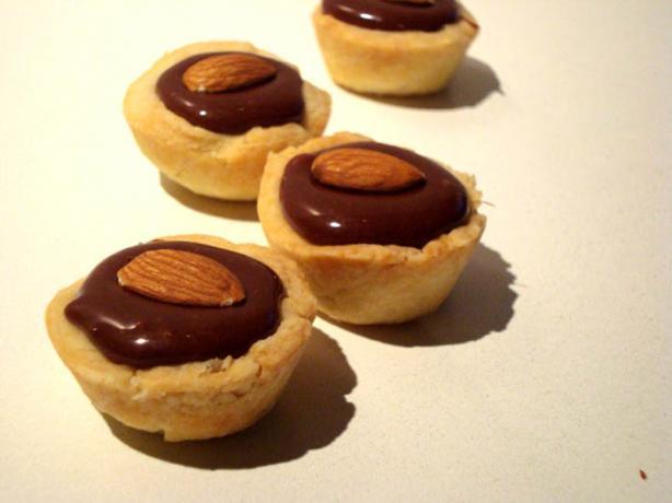 Chocolate-Caramel-Pecan Tartlet Filling