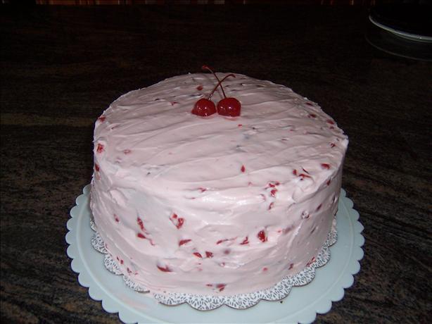Maraschino Cherry Icing