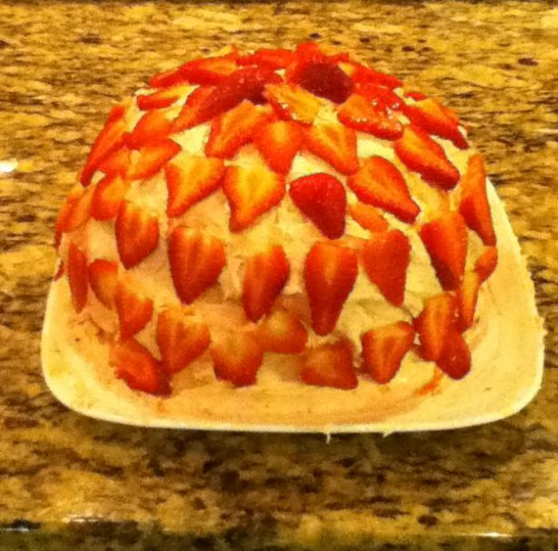 Strawberry Jam Cake With Fresh Berry Frosting