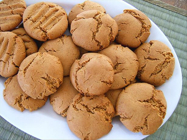 No-Flour Peanut Butter Cookies