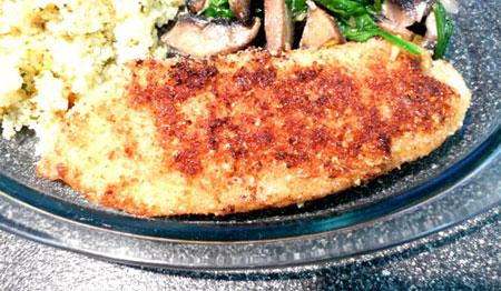 Pan-Fried Fish Almondine