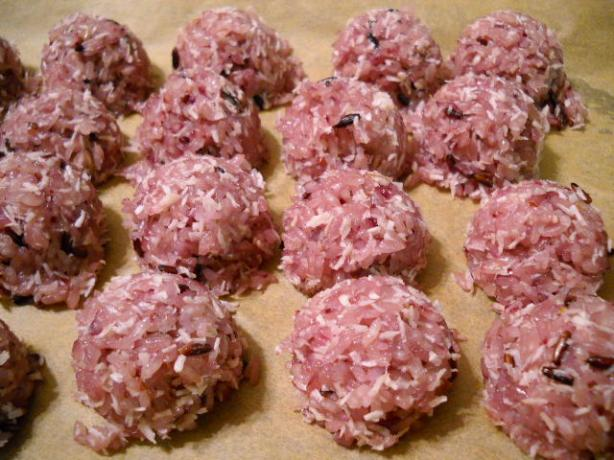Purple Rice Balls