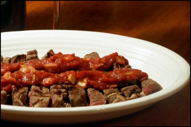 Texas Style Sliced Steak