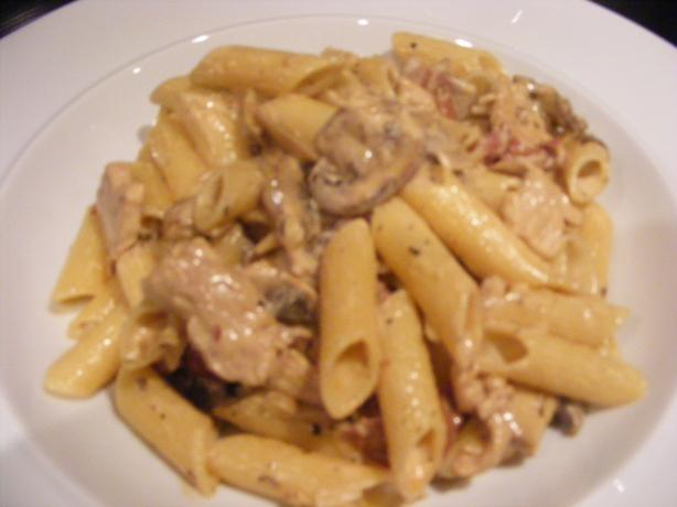 Parma, Chicken & Mushroom Cream Pasta