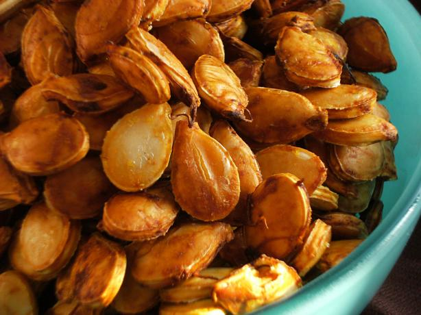 Spicy Roasted Butternut Seeds / Pumpkin Seeds