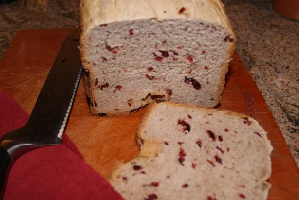 Cranberry-Raspberry Bread