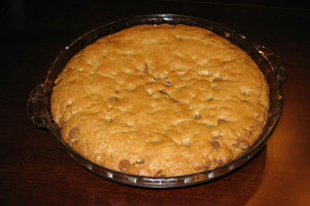 "One ""big"" Chocolate Chip Cookie"