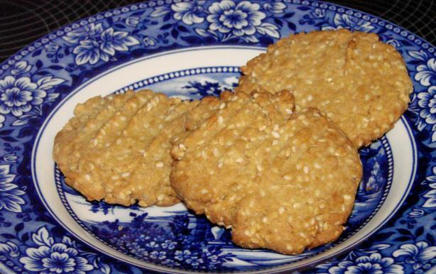 Chinese Sesame Seed Cookies