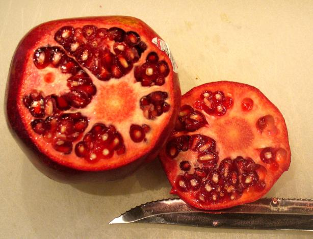 Seeding a Pomegranate - Step by Step