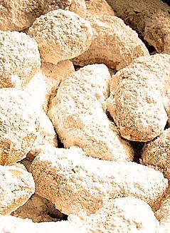 Greek Kourabiedes Cookies