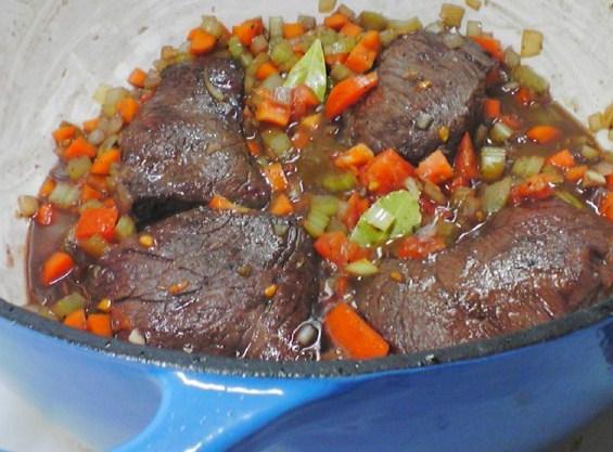Zinfandel Braised Beef Short Ribs