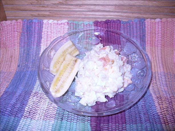Pineapple Mandarin Orange Cream Orzo Salad