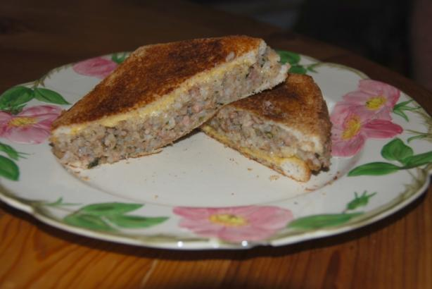 Boudin Grilled Cheese Sandwich