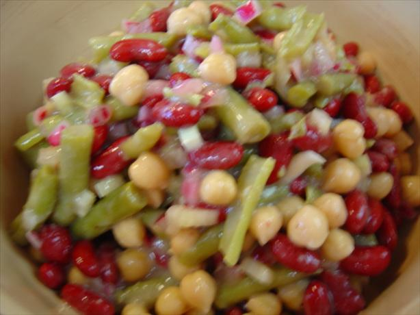 Sweet N Sour Bean Salad