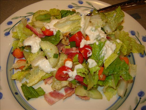 Kid-Friendly Chop Chop Salad With Creamy Blue Cheese or Butterm
