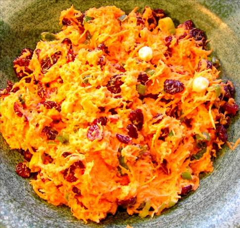 Carrot-Craisin Salad with Ginger