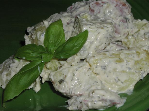 Dill and Sour Cream Potato Salad