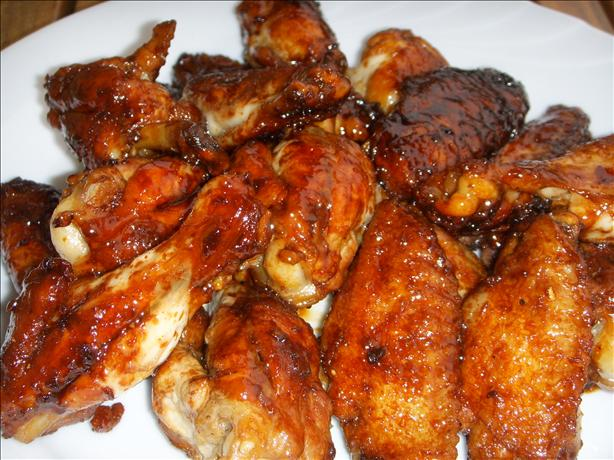 Chinese Honey-soy Braised Chicken Wings (mut Jup Mun Gai Yik)