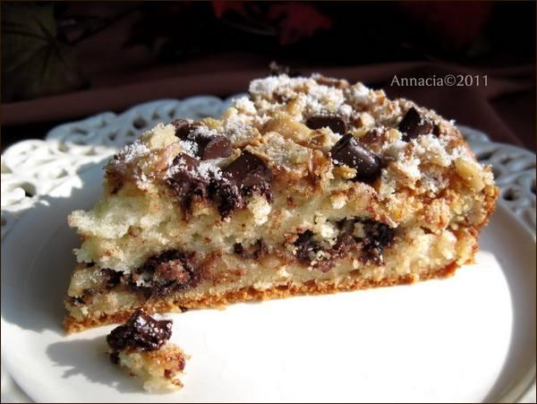 Chocolate Chunk Coffee Cake