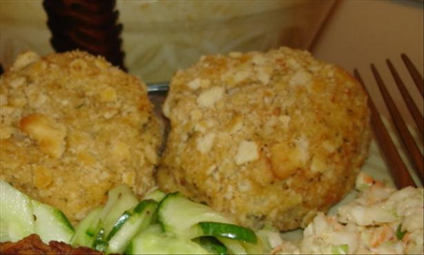 Kittencal's Baked Cheesy Mashed Potato Patties/Croquettes
