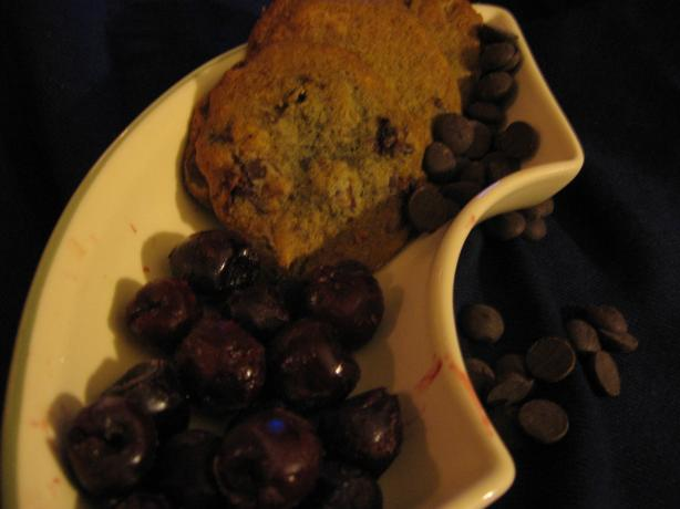Black Forest Chocolate Chip & Cherry Cookies
