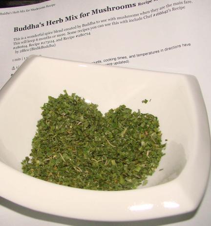 Buddha's Herb Mix for Mushrooms