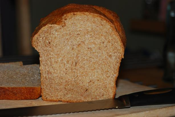 Mom's 100% Whole Wheat Air Loaf in Abm