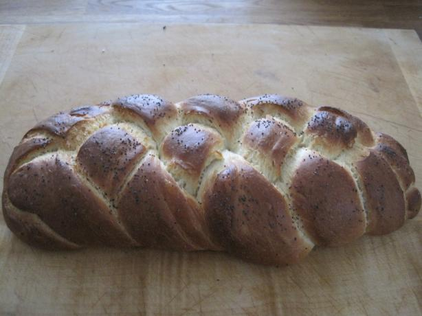 Amazing Fast Rise Challah Bread - One Small Loaf