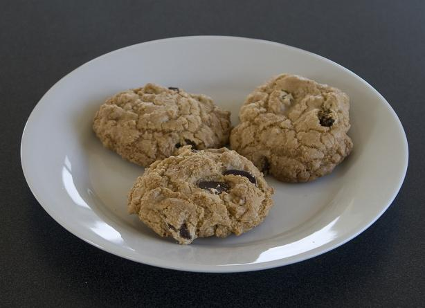 Gluten Free Chocolate Chip, Raisin, Walnut Cookies