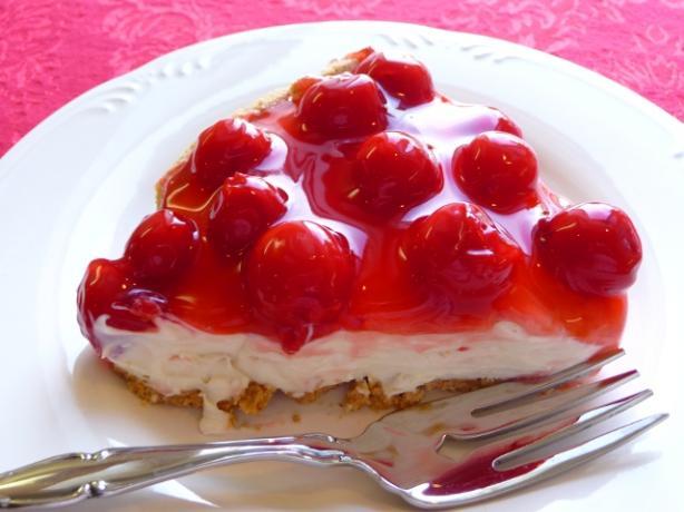 Light Cherry Cream Cheese Pie