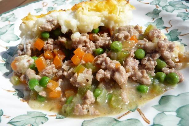 """gobble-Up"" Turkey Cottage Pie"
