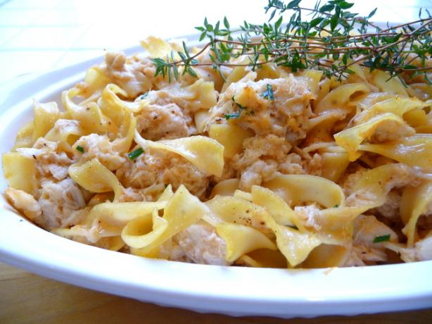 "Grown-Up ""tuna"", (Now) Crab Casserole"
