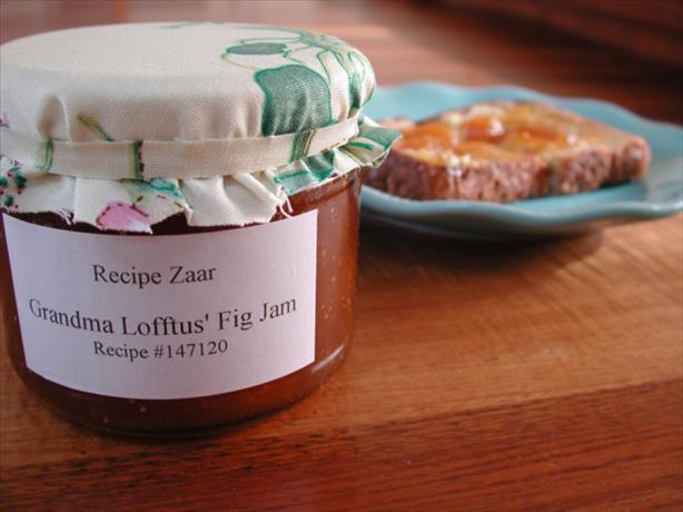 Grandma Lofftus' Fig Jam