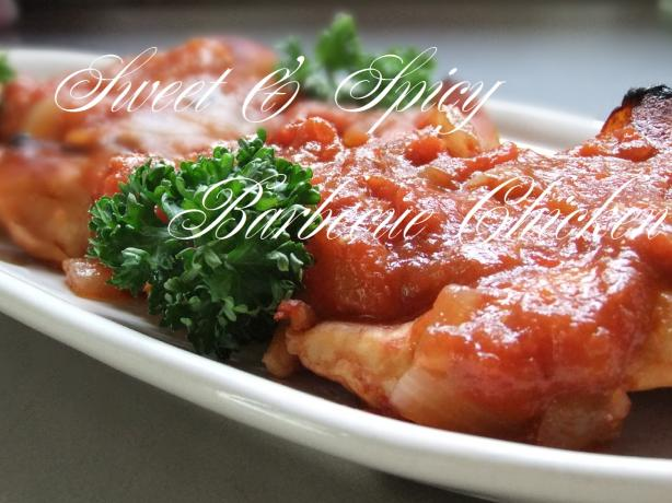 Sweet & Spicy Barbecue Chicken