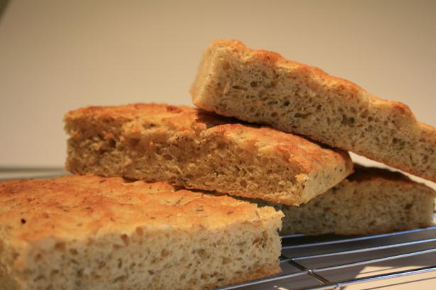 Potato Rosemary Focaccia ( Focaccia Con Patate E Rosmarino )