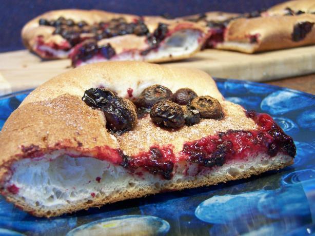 Sweet Blueberry Focaccia