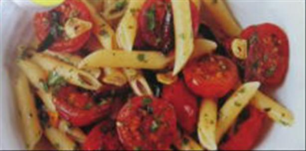 Cherry Tomato and Kalamata Olive Penne