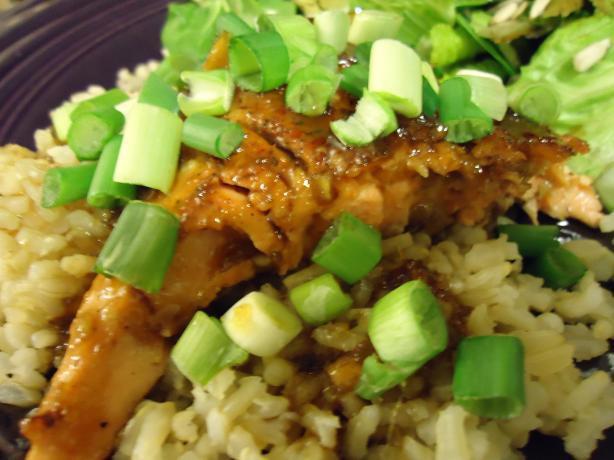 Ww Honey-Glazed Salmon With Wasabi - 4 Points