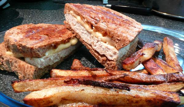 Turkey Patty Melt